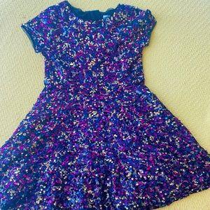 Gap colorful sequin dress